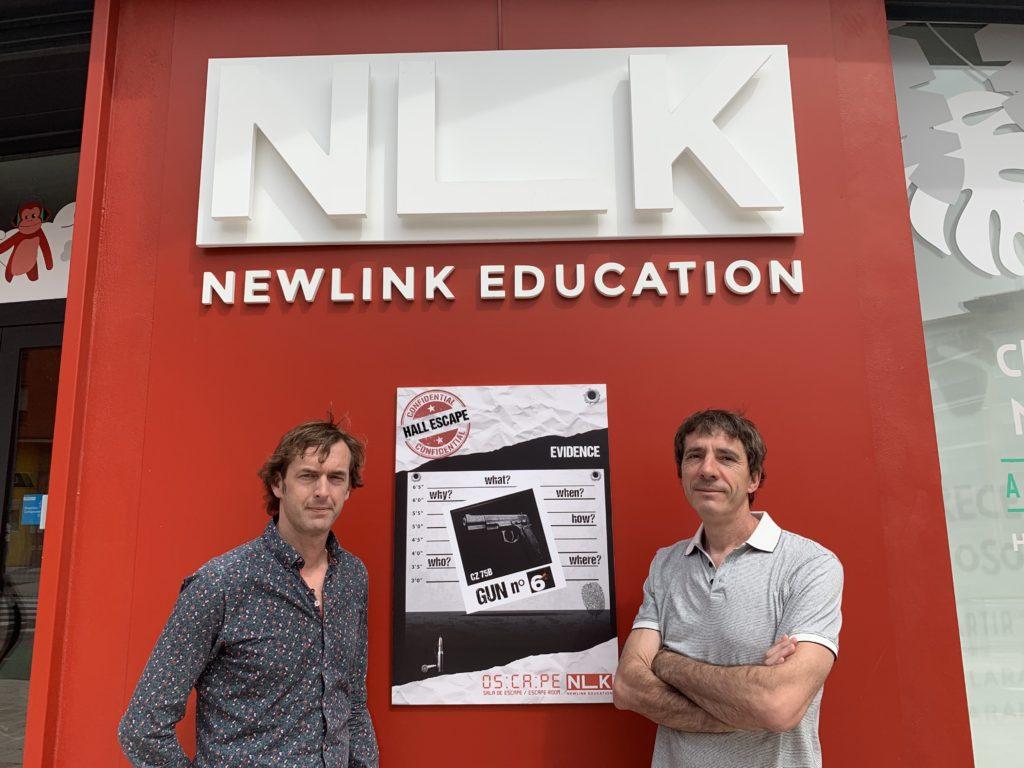 Nuevo juego de escape Oscape NewLink Education Valero Biarge y Chema Pascual